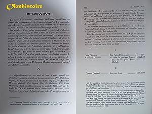 Documents du minutier central concernant les peintres, les sculpteurs et les graveurs au XVIIe si&...