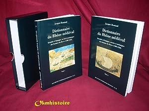 Dictionnaire du Rhône médiéval - Identités et langages, savoirs et ...
