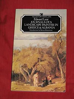 Journals of a Landscape Painter in Greece: Lear, Edward