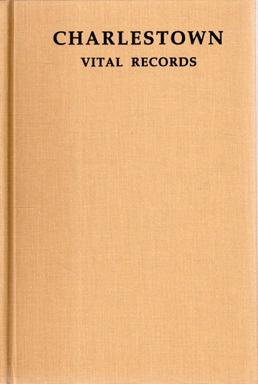 Vital Records Of Charlestown Massachusetts to the: JOSLYN, Roger D.