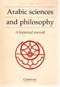 Arabic Sciences and Philosophy, A Historical Journal,: RASHED, Roshti (ed)