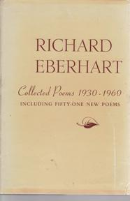 Collected Poems 1930-1960, including Fifty-One New Poems: EBERHART, Richard