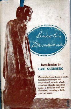 Lincoln's Devotional, Introduction by Carl Sandburg,