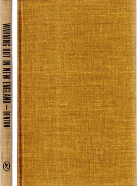 Warning Out in New England 1656-1817: BENTON, Josiah Henry