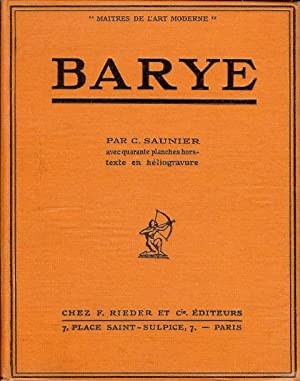Barye: SAUNIER C.