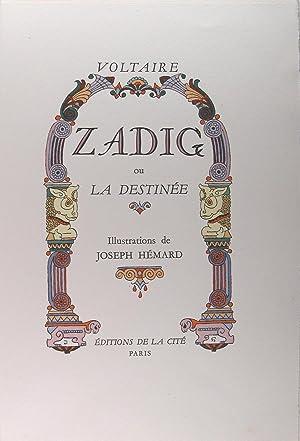 Zadig ou la destinée.: Voltaire (Joseph Hémard)