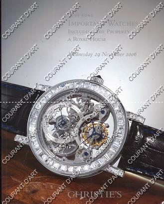 IMPORTANT WATCHES INCLUDING THE PROPERTY OF A ROYAL HOUSE. [ROLEX. CHOPARD. STOWA. HUBLOT. GRAHAM. JAEGER-LECOULTRE. BREGUET. ROGER DUBUIS. EBEL. DEL ESTIMATIONS