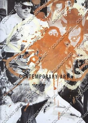 CONTEMPORARY ART. NOW. EVENING SALE. [KILIMMIK. GEORGE CONDO. KELLEY WALKE. AITKEN. BALDESSARI. PARRINO. GENZKEN. PRINCE. MCGINNESS. ELIASSON. WESSEL (bi_3350602072) photo