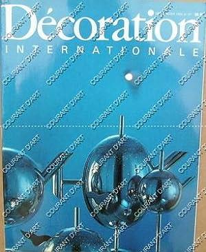 DECORATION INTERNATIONALE. DEC-JANVIER 1984. N°67. STANCES A: PAR CATHERINE VERNANT,