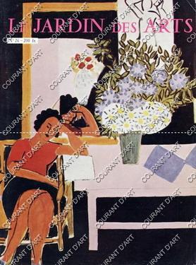 LE JARDIN DES ARTS. REVUE MENSUELLE. OCTOBRE 1956. N°24. MATISSE ET LE MAROC. FRAGONARD EN ...
