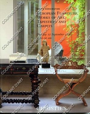 EUROPEAN FURNITURE, WORKS OF ART, TAPESTRIES AND: OLD BROMPTON ROAD