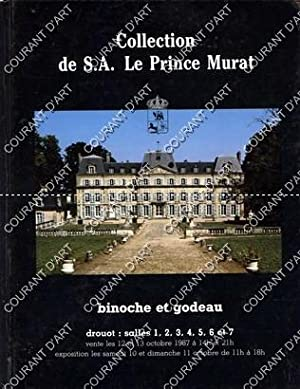 COLLECTION DE S. A. LE PRINCE MURAT. 600 TABLEAUX CONTEMPORAINS. (1ere VENTE). ART PUBLICITAIRE E...