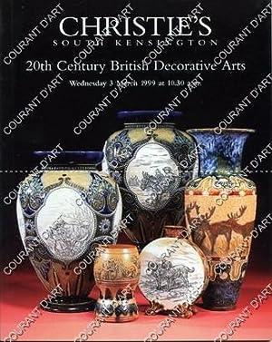 20TH CENTURY BRITISH DECORATIVE ARTS. GLASS. CERAMICS.