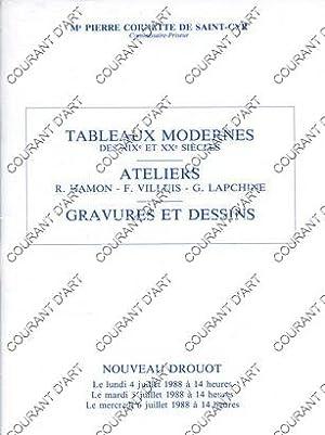 TABLEAUX MODERNES DES XIXE ET XXE SIECLES.: NOUVEAU DROUOT