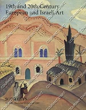 19TH AND 20TH CENTURY EUROPEAN AND ISRAELI