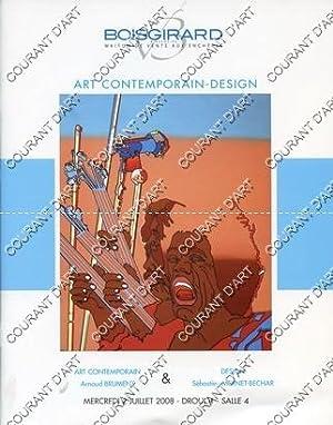 ART CONTEMPORAIN DESIGN. [ATELIER FLORENCE PARVAT LAUBLE.: DROUOT RICHELIEU SALLE