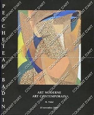 ART MODERNE ET CONTEMPORAIN. [VILLON. MASSON. CHAGALL.: DROUOT RICHELIEU. SALLE