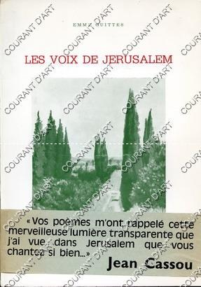 LES VOIX DE JERUSALEM. ILLUSTRATIONS DE MAXA: PAR EMMY GUITTES