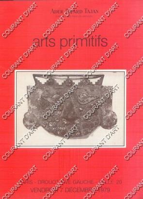 ARTS PRIMITIFS. COLLECTION DE M. P. ET: DROUOT RIVE GAUCHE.