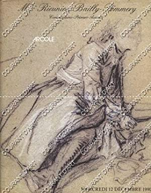 IMPORTANT ENSEMBLE DE DESSINS ANCIENS DU XVIeme AU XIXeme SIECLE, EXCEPTIONNEL DESSIN PAR J. H. F...