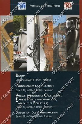 BIJOUX. AUTOMOBILES DE COLLECTION. ARMES. MOBILIER ET: RUE SAINT-MARTIN