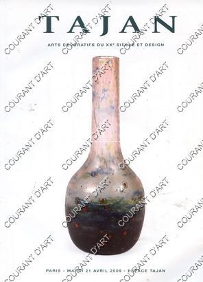 ARTS DECORATIFS DU XXE SIECLE ET DESIGN.: ESPACE TAJAN