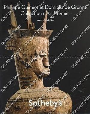 COLLECTION D'ART PREMIER. [TRES BEAU COUPLE DE: RUE DU FAUBOURG