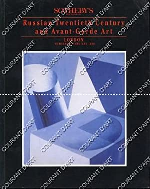RUSSIAN TWENTIETH CENTURY AND AVANT-GARDE ART. [GONCHAROVA.