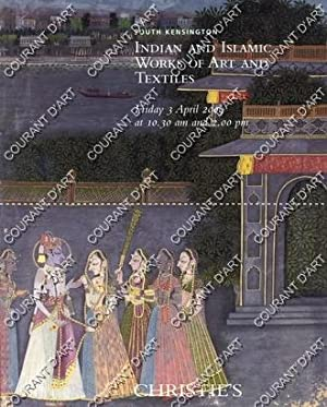 INDIAN AND ISLAMIC WORKS OF ART AND