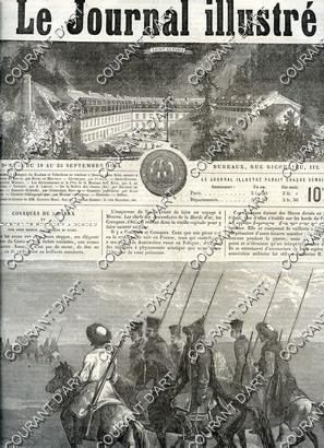 LE JOURNAL ILLUSTRE. N°32. 18/19/1864-25/09/1864. SAINT GERVAIS.: A. DE LAMARTINE.