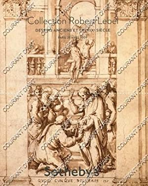 COLLECTION ROBERT LEBEL. DESSINS ANCIENS ET DU XIXE SIECLE. [IL TALPINO. RAFFAELLINO DA REGGIO. G...