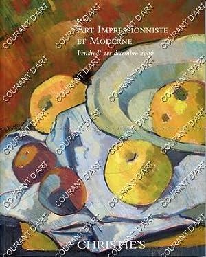 ART IMPRESSIONNISTE ET MODERNE. COLLECTION VENANT DE: AVENUE MATIGNON
