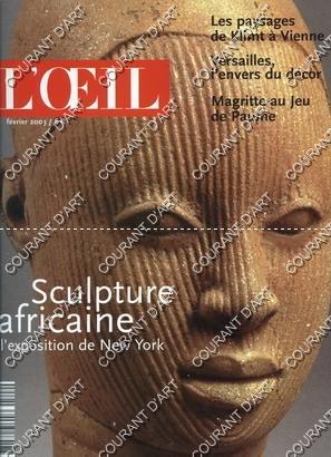 L'ŒIL. FEVRIER 2003. N°544. LES PAYSAGES DE: PAR PHILIPPE PIGUET,
