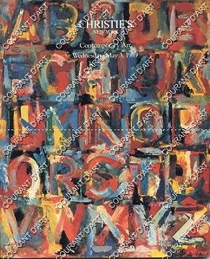 CONTEMPORARY ART. [JENSEN. FRANCIS. CALDER. DE KOONING.