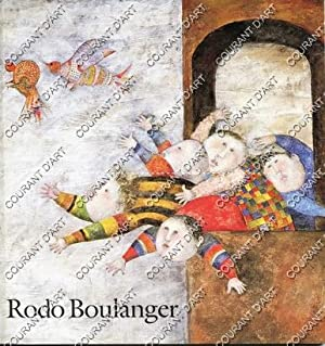 GRACIELA RODO BOULANGER. RECENT WORKS. 10/08/1994-31/08/1994. (Weight= 280 grams)