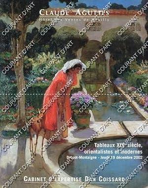 TABLEAUX XIXe, ORIENTALISTES ET MODERNES. ART ISLAMIQUE.: DROUOT MONTAIGNE