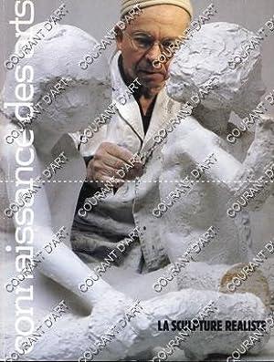 CONNAISSANCE DES ARTS. N°352. JUIN 1981. LA SCULPTURE REALISTE. JARDIN DE MONET. RUTH. BOOZ. ...