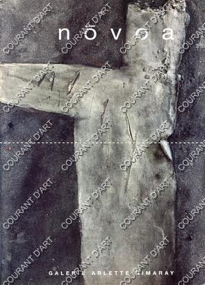 LEOPOLDO NOVOA. GALERIE ARLETTE GIMARAY. PARIS. 26/09/1996-26/10/1996.: PAR VIRGINIE GIMARAY