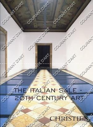 THE ITALIAN SALE. 20TH CENTURY ART. [