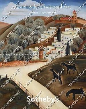 ISRAELI AND INTERNATIONAL ART. [REUVEN RUBIN. MICHAEL