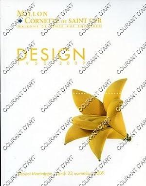 DESIGN 1950-2009. [STEINER. STUDIO 65. UMBERTO RIVA.: DROUOT MONTAIGNE
