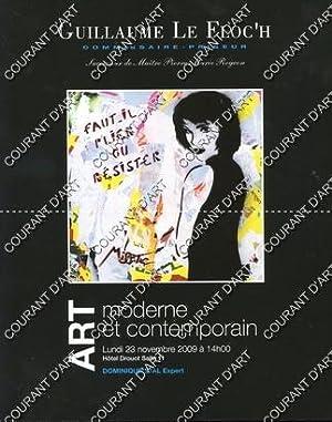 ART MODERNE ET CONTEMPORAIN. [LABEGORRE. CEYTAIRE. CHAGALL.: HOTEL DROUOT SALLE