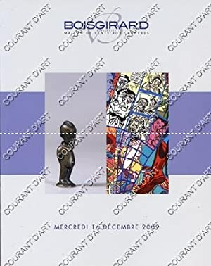 TABLEAUX MODERNES. ART CONTEMPORAIN. ART NOUVEAU ET ART DECO. [MONIER. APOLLINAIRE. VILLON. MIRO....