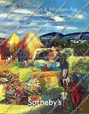 IMPRESSIONIST AND MODERN ART INCLUDING LATIN AMERICAN