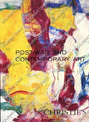 POST-WAR AND CONTEMPORARY ART. [BALDESSARI. BROWN. NEWSON.
