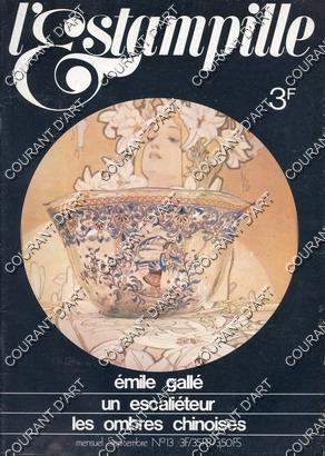 L'ESTAMPILLE. SEPTEMBRE N°13. 1970. ARTISANAT TRADITIONNEL. UN: PAR PATRICE CHAPPUIS
