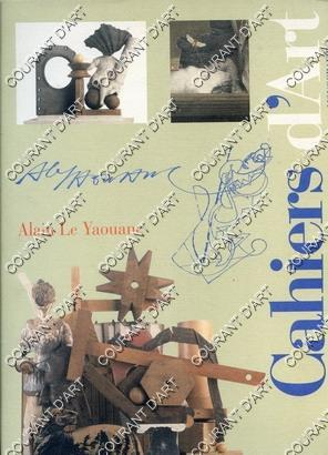 ALAIN LE YAOUANC. CAHIERS D'ART. MONOGRAPHIE. EN: PAR ALAIN LE