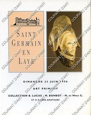 ART PRIMITIF. COLLECTION B. LUCAS. M. BOHOT.: HOTEL DES VENTES