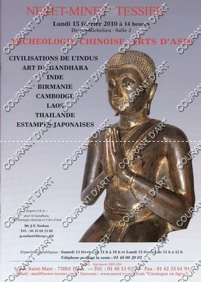 CIVILISATIONS DE L'INDUS. ART DU GANDHARA. INDE.: DROUOT RICHELIEU SALLE