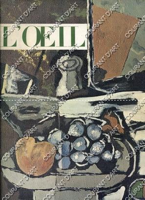 L'OEIL. REVUE D'ART MENSUELLE. N°107. NOVEMBRE 1963.: PAR C. STERLING.